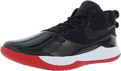 especificación Ordenanza del gobierno inflación  Amazon.com   Nike Men's Lebron Witness III PRM Basketball Shoe  Black/White/University Red Size 11 M US   Basketball