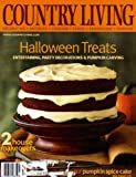 Country Living Magazine October 2002 - Halloween Treats