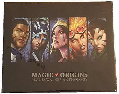 SDCC 2015 Exclusive Magic the Gathering Magic Origins Planeswalker Anthology Hard Cover Art Book - Exclusive Magic