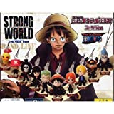 Gashapon STRONG WORLD ONE PIECE FILM Strong World One Piece theater version strap BEST Suit Ver. All 10 species set