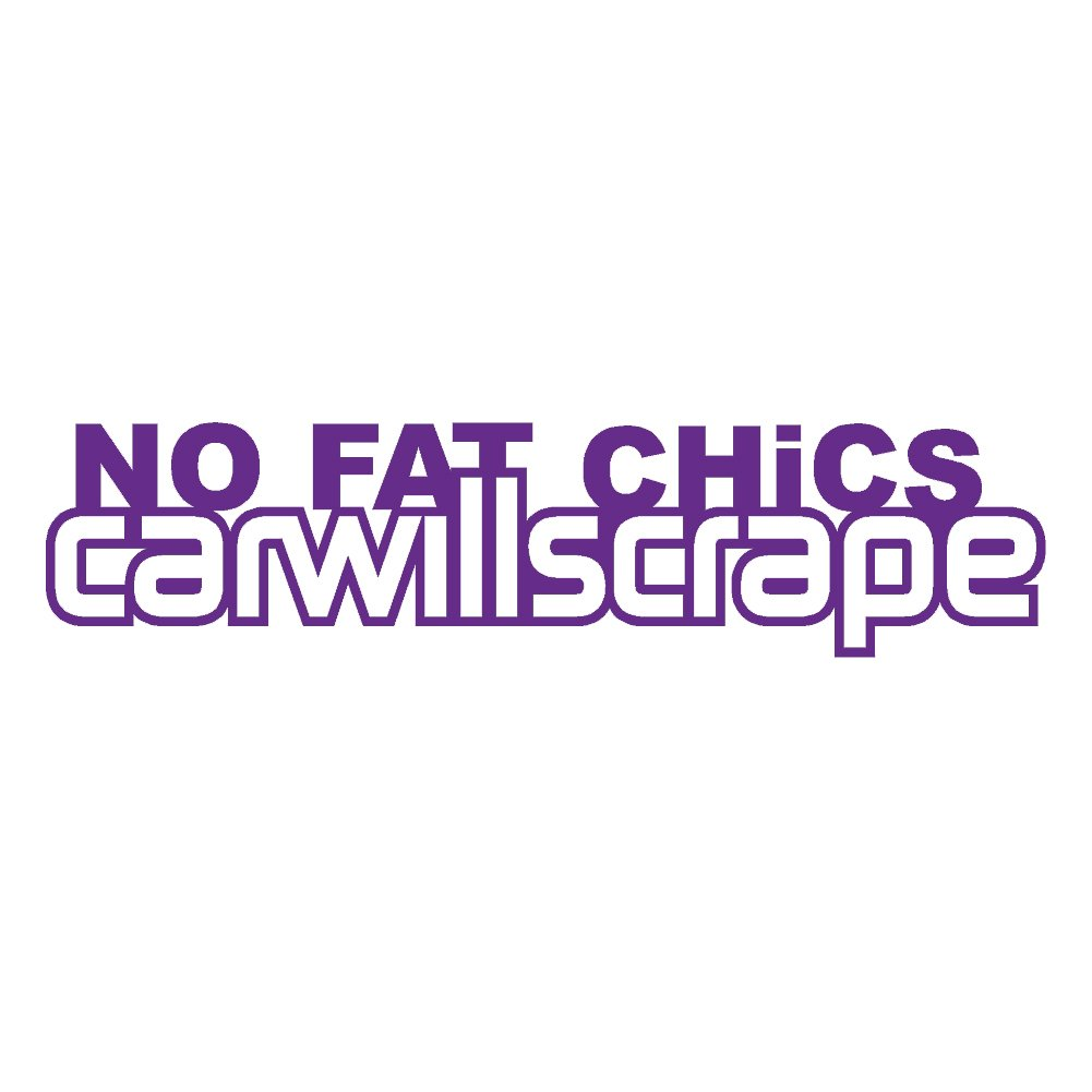 No stickerdad Fat Chics v2ビニールデカールby stickerdad – – サイズ: 7インチ B0779CSPXB、カラー:パープル – Windows、壁、バンパー、ノートパソコン、ロッカー、など。 B0779CSPXB, タカシマグン:e1385690 --- harrow-unison.org.uk