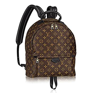 authentic louis vuitton monogram canvas palm springs backpack mm handbag article m41561 made in. Black Bedroom Furniture Sets. Home Design Ideas