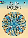 3-D Designs (Dover Design Coloring Books) (Paperback)