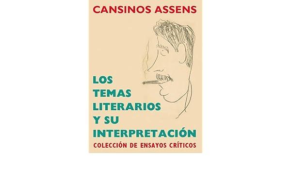 Amazon Com Los Temas Literarios Y Su Interpretación