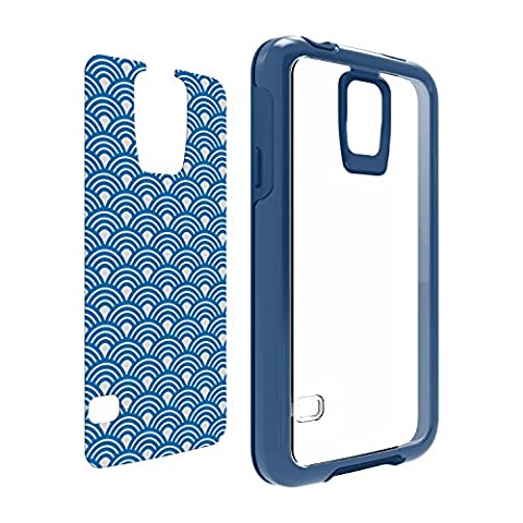 OtterBox My Symmetry Series Samsung Galaxy S5 Case - Royal Crystal w/ Blue Arches Graphic Insert (Otterbox Samsung Galaxy S5 Skin)