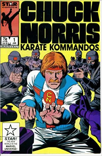 Amazon.com: Chuck Norris and the Karate Kommandos #1 : The Super ...