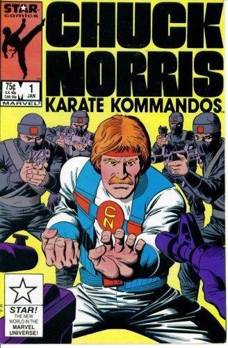 (Chuck Norris and the Karate Kommandos #1 : The Super Crusher (Marvel Comics))