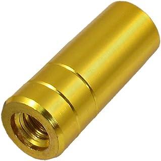 Como 1.5cm x 3.5cm Gold Tone en alliage d'aluminium pôle de vissage pour la pêche Landing Net