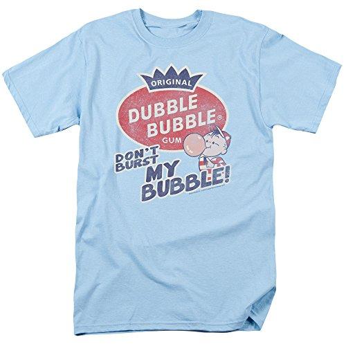 2Bhip Dubble Bubble Nostalgic Candy Burst Bubble Adult T-Shirt Tee
