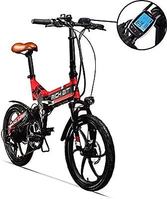 RITH BIT 20 Inch Folding E-Bike, Electric Bike, 250W*8Ah Lithium ...