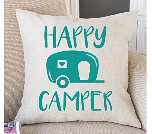 Pattebom Camper Decor Camper Pillow Camper Decorations RV Decor Traveler Gift Camper Gift Campers Gifts Camping Decor RV Accessories