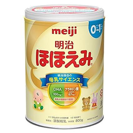 Image result for 明治 meiji ほほえみ800g 2缶パック × 2個 (景品3個付き)
