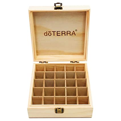 asterisknewly Estuche De Almacenamiento De Bricolaje Caja De Aceites Esenciales Caja De Aceite Esencial De 25 Rejillas para La Exhibición De La Tienda ...