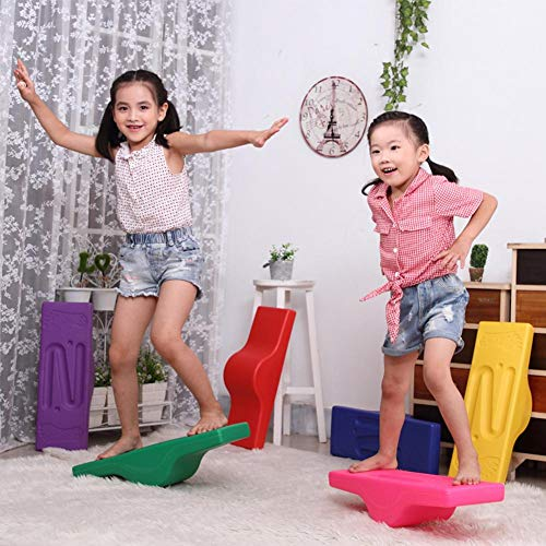 Santree Balance Board Toy Balance Training Equipment Children's Track Balance Seesaw Fitness Toys for Kids Early Education ()