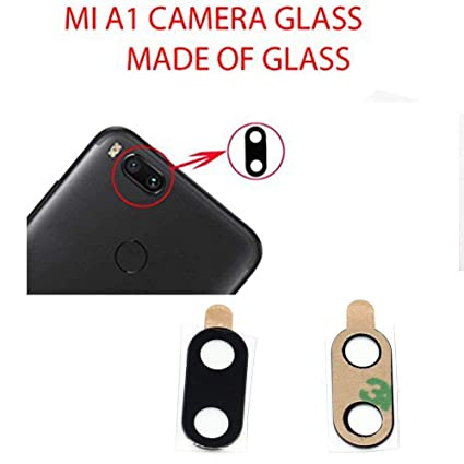 premium selection da3db 9c417 Anonymous Back Camera Glass Lens Replacement with Adhesive Replacement for  Xiaomi Mi A1