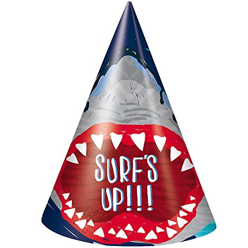 Unique Industries Shark Party Hats, ()