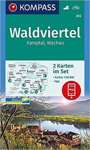 Wachau Karte Donau.Kompass Wanderkarte Waldviertel Kamptal Wachau 2