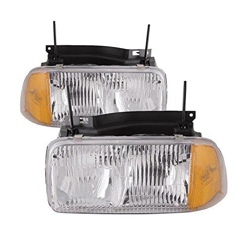 GMC Sonoma/Oldsmobile Bravada Headlights Set - Oldsmobile Bravada Headlight Headlamp