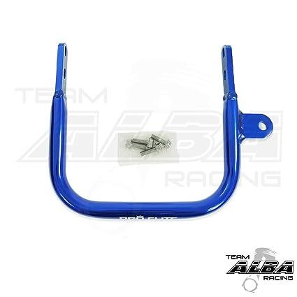 Yamaha Raptor 660 (2001-2005) ATV Rear Grab Bar Bumper Blue on