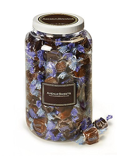 Glutenfree Mixed Bulk Caramel Candy, Individual Wrapped - Bulk Candy Holiday Snacks (Assorted Caramels, 1 Gallon Jar) -
