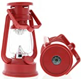 SE FL807-15R 15 Led Hurricane Camping Lantern Red, Outdoor Stuffs