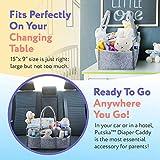 Putska Baby Diaper Caddy Organizer - Gift Registry