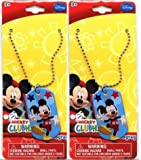 Mickey Mouse Dog Tag Necklace (Pack of 2)