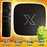 Omni Android TV Box/Mini PC Android Box 4X [Quadcore CPU] 802.11 [WiFi] 3D [Multicore GPU] 4K [Video Streaming]