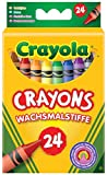 Classic Color Pack Crayons, 24 Colors/Box 24 Assorted Colors/Standard Box