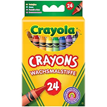 Crayola FBA_247 Classic Pack Crayons 24 Assorted Colors/Standard Box