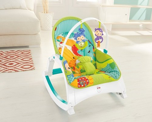 Fisher Price Dmr88 Rainforest Friends Infant To Toddler
