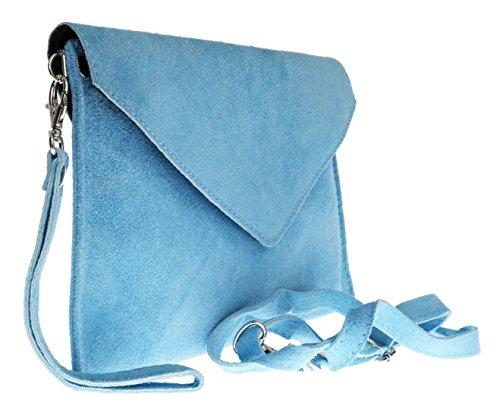 clair Pochette Elegant Fashions bleu pour femme XAUq6w