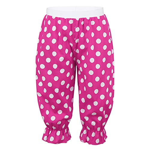 Panto Dame Fancy Dress Halloween Costumes - iiniim Kid Girls Clown Bloomer Trousers