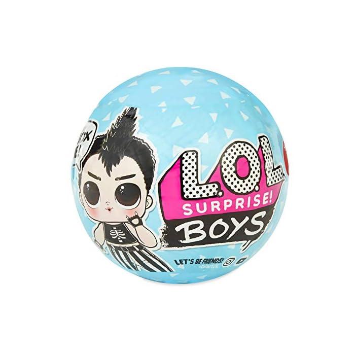 51LXRSfmcNL Descubre la nueva colección de boys lol 8 personajes para coleccionar 7 sorpresas en cada bola, moja a tu personaje en agua y descubre la sorpresa