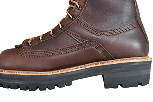 Hoffman Boots Heren 600 Alle Leren Powerline Browns