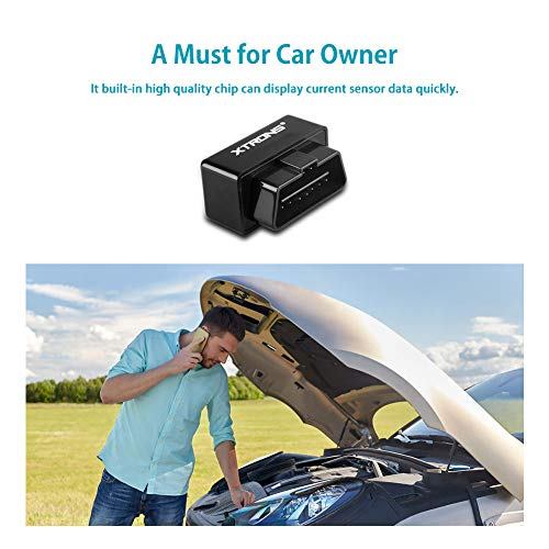 XTRONS Wireless Bluetooth OBD2 Android OBDII Car Auto Diagnostic