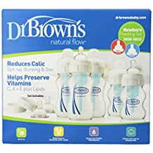 Dr. Brown's 440 Natural Flow Wide Neck Newborn Feeding Set