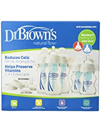 Dr. Brown's Original Wide-Neck Bottle Newborn Feeding Set BOBEBE Online Baby Store From New York to Miami and Los Angeles