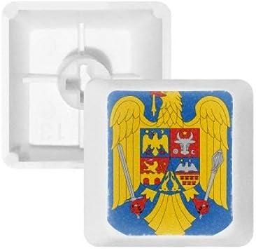 DIYthinker Rumanía National Emblema Teclas Pbt País para ...
