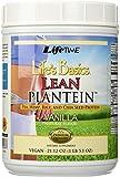 Life's Basics Lean Plantein Plant Protein (Vanilla) LifeTime 21.12 oz Powder