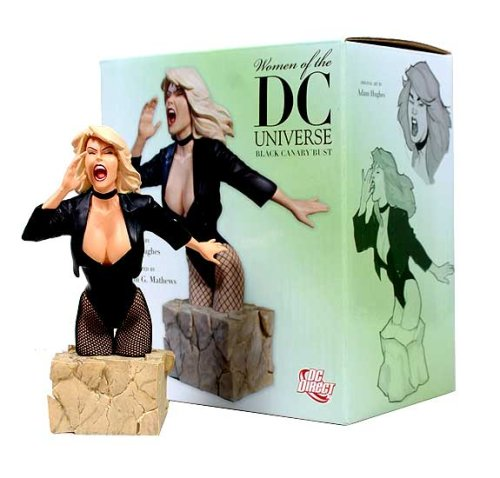 DC Comics Women of the DC Universe: Black Canary Bust DC Direct
