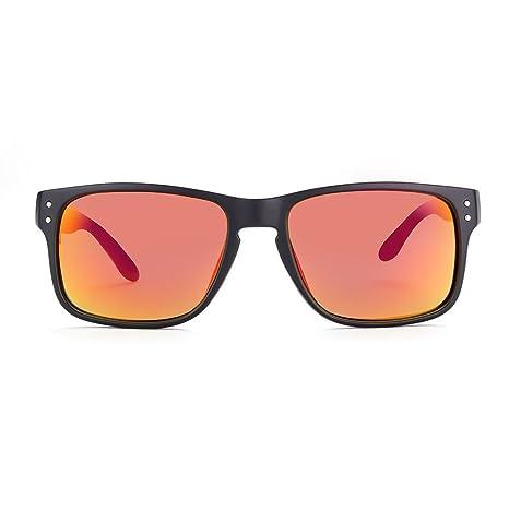 NYKKOLA, clásico, Unisex, marco cuadrado, Wayfarer Gafas de sol polarizadas