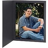 Tap 5x7 Senior Slip Photo Folder, 25 Pack, Ebony