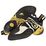 Kyпить La Sportiva Solution Vibram XS Grip2 Climbing Shoe - White / Yellow - Mens - 45.5 на Amazon.com