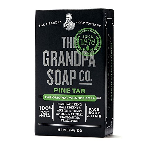 Grandpas Soap, Soap Bar Pine Tar, 3.25 Ounce (Best Pine Tar Soap)