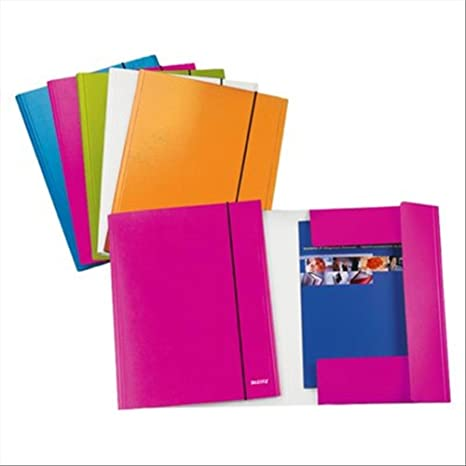 Leitz WOW folder 3 flap Policarbonato Rosa - Carpeta ...