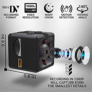 Spy Hidden Camera Wireless Premium Pack with 32 GB Card HD 1080P Motion Detection USB Hidden Camera Surveillance Camera Mini spy Camera Nanny Camera