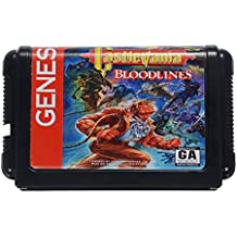 Saver Castlevania Bloodlines Game Cartridge 16 bit Game Card for Sega MegaDrive Genesis PAL NTSC System