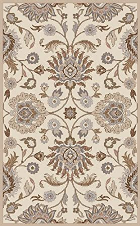 Amazon.com: Surya Caesar CAE 1109 Hand Tufted Wool Classic Area Rug, 9 Feet  By 12 Feet: Kitchen U0026 Dining