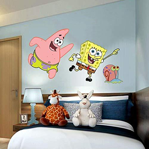 Sponge Bob Square pants Patrick 3D Window View Decal Graphic WALL STICKER Art Mural 18
